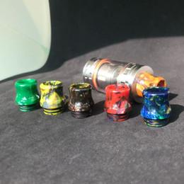 Kennedy mods online-Puntali a goccia larga in resina epossidica 810 Puntali a goccia larga in resina colorata per TFV8 TFV12 Atomizzatori Serbatoio Kennedy 24 RDA RBA Mods