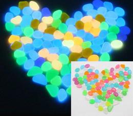 Wholesale Garden Pebbles Stones - Glow in the Dark Garden Pebbles for Walkways & Decor and Plants Luminous Stones