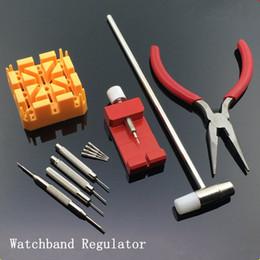 barato relógios de moda de plástico Desconto 2017 Relógio Barato Ferramentas de Moda Watchand Ajustar ferramenta Novo Plastic E Metal Watchband Regulator