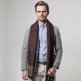 Marca de lujo de los hombres bufanda de tela escocesa de los hombres  bufandas Envío gratis bufanda de invierno Mens Plaid Cashmere bufanda nuevo  arrivel ... 78aa83b13ad