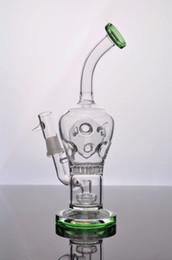 bomba de aceite libre Rebajas Bongs de vidrio que fuman pipas de vidrio de agua que pipa de aceite Tamaño de la junta de la bomba de difusión de los Aparejos 14.4mm Envío gratis