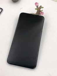 смартфон octa core 2gb Скидка Смартфон XS MAX 6.5 inch 1G+16G ROM Quad Core Face ID смартфоны телефон разблокирован телефон распознавания лиц показать поддельные 4G+128G ROM DHL бесплатно