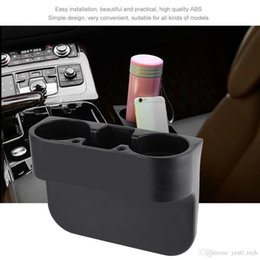 cars storage box Coupons - free shipping yentl Stand Storage Box Interior Organizer Portable Multifunction Car Seat Drink Holder Rubbish Case Can Bottle Food Mount