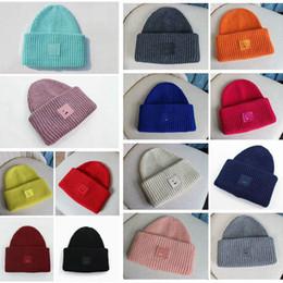 riscaldatori dell'orecchio di ciclismo Sconti INS Mercanzia, Lana Cube, Smiley Cappellino, Cappello di lana inverno caldo all'aperto, uomo e donna del cappello