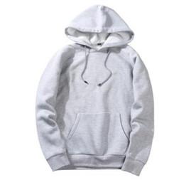 7810cfee67c Men s Hoodie Sweatshirt Kanye Hip Hop Streetwear Male Oversized Plain  Pullover Hoodies Cool Winter Hooded Sweatshirt Jacket Coat