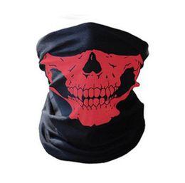 Radfahren kostüm online-Großhandel Outdoor Nahtlose Vielseitige Magie Schädel Schal Gesichtsmaske Schal Radfahren Reiten Masken Warme Halstuch Halloween Kostüme CG009