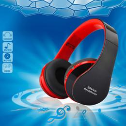 Conjunto de manos libres bluetooth online-Manos Libres Estéreo Manos Libres Auriculares Inalámbricos Casque Audio Auriculares Bluetooth Auriculares Inalámbricos para PC PC Head Phone