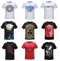 Wholesale New Clothes For Women - New T-shirt Fashion Printed Women And Men's Clothing Casual Summer Short Sleeve Tops Tees Shirt T For