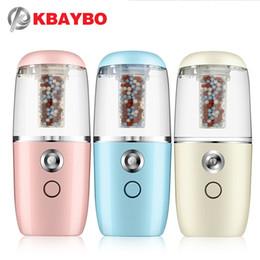 2019 uso do filtro KBAYBO USB Mini Portátil Umidificador de Ar Purificador de Ar Difusor com filtro Umidificador Ultra-sônico Difusores De Ar Recarregável uso uso do filtro barato