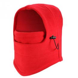 Wholesale Face Guarding - Outdoor Sports Helmet Winter Windproof Fleece Full Face Neck Guard Masks Headgear Hat Riding Hiking Cycling Masks Balaclava Mask