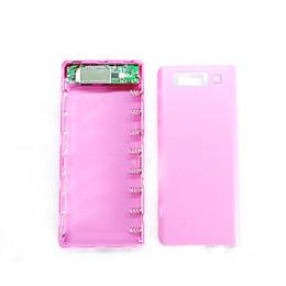Canada DIY Power Bank 8 pcs 18650 Chargeur de batterie Case Pack Titulaire pour téléphone portable USB Mobile de charge pour téléphone poverbank External Offre