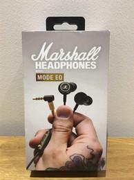 monitores de telefone celular Desconto Marshall Modo EQ Fones De Ouvido Com Microfone DJ Hi-Fi Headphone Headset HiFi Professional DJ Monitor de fone de ouvido para celular