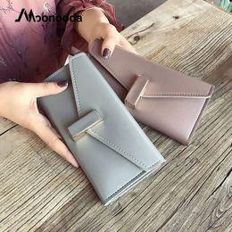 2019 новые простые мобильные телефоны Moonooda мода простой длинный кошелек лето новый женский кошелек клатч мобильный телефон сумка Сумки кошельки и сумки для женщин Леди