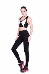 sexy gear Promo Codes - 10pcs Women Sexy Brand Tight Yoga Sport Gym Leggings Capris Pants Gear Running Pants Leggings Skinny dropshipping