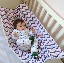 Portátil Do Bebê Hammock Cama Recém-nascidos Elástico Destacável Berço Seguro Baby Hammock Portátil Ao Ar Livre Assento de Suspensão Jardim Balanço de