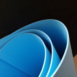 Wholesale Sheets Crafts - Size 50cm*2m sky blue color Eva foam sheets,Craft eva Easy to cut,Punch sheet,Handmade flowers   cosplay material