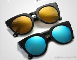 c6b1d8f3425 2018 Fashion Women Colour Luxury Flat Top Cat Eye Sunglasses Elegant oculos  de sol men Twin Beam oversized Sun glasses UV400 96890