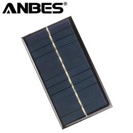 Painéis solares para brinquedos on-line-Painel Solar Mini Portátil 6 V 1 W 110 * 60mm Sunpower Módulo DIY Sistema de Painel Para Bateria Solar Bateria Brinquedos Telefone Carregador de Células Solares