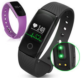 Hembeer HR Monitor de ritmo cardíaco Pulsera inteligente Negro / Naranja / Verde / Azul / Púrpura Pulsera de pasos para brazalete para iphone Android desde fabricantes