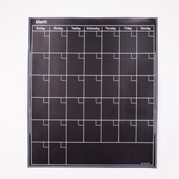 Pizarra adhesiva online-Pegatinas de pizarra autoadhesivas de PVC Shcoolboard Notas Placa de pared Etiqueta Pizarra Pizarra Tablero de mensajes a prueba de agua