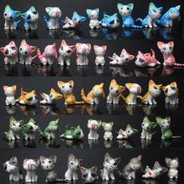 """Hot New 9 Unids / lote 1.2 """"-1.6"""" 3CM-4CM Chi Sweet Home Cat Figura Anime Figuras de Acción de Colección Mejores Regalos Juguetes desde fabricantes"""