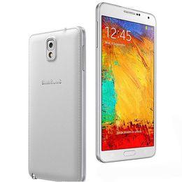 2019 ядро камеры Оригинал Восстановленное Samsung Galaxy Note3 Note 3 N9005 N900A 5,7 дюйма 3 ГБ RAM 16 ГБ / 32 Г ПЗУ Android Quad Core 13MP Камера разблокирована сотовый телефон дешево ядро камеры