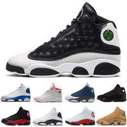 Calzado real online-Zapatillas de baloncesto Hyper Royal 13s para hombre Zapatillas de deporte de oliva Blanco azul Gato negro Alititude Pelota de baloncesto verde Trainer 13 Calzado deportivo
