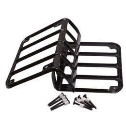 Wholesale tail guard - Pair Black Rear Euro Tail Light Guard Cover Protector For 2007-2016 Jeep Wrangler JK Unlimited