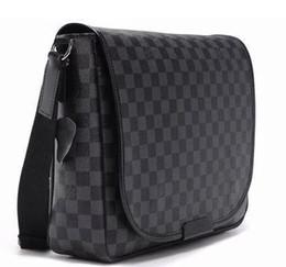 Wholesale Pocket Laptops - Brand Men r Handbag Black Briefcase Laptop Shoulder Bag cross body bag school bookbag Messenger Bag MJ1016
