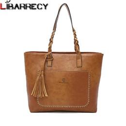 8bc086516799 Luxury Handbags Women Bags Designer Soft Tassel Ladies Hand Bags Large  Capacity Shoulder Bag Famous Brand Ladies Big Tote 2018