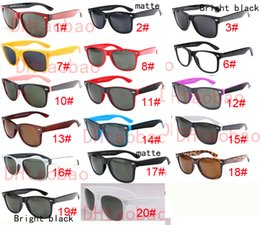 Wholesale Protection Sports - good quality Brand Designer Fashion Men Sunglasses UV Protection Outdoor Sport Vintage Women Sun glasses Retro Eyewear 18colors free ship