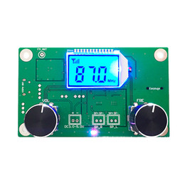 module dsp Coupons - 1 PC 87-108MHz DSP&PLL LCD Stereo Digital FM Radio Receiver Module + Serial Control