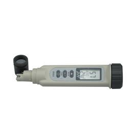 Wholesale Temperature Ph - AZ8686 new Portable aquarium fruit ph meter tester pen with temperature compensation 0.2pH
