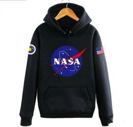 Wholesale American Flag Hoodies - Hoodies Sweatshirts The Newest Nasa Fashion American Flag Sport Active Coats Jackets Hoody Hoodies Sweatshirts For Men And Women Lovers