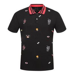 Más polos de los hombres del tamaño online-Nuevo diseñador de moda Polos camisetas serpiente abeja hombres mujeres marca Big Plus Size Casual O cuello manga corta de verano Tops