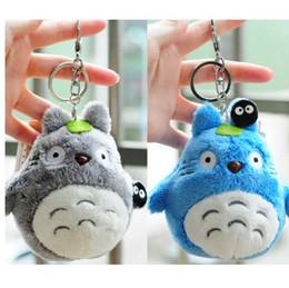 doraemon plush Desconto Mini Meu Vizinho Totoro brinquedo de pelúcia New kawaii anime totoro keychain brinquedo de pelúcia pelúcia totoro Boneca do brinquedo para o presente Crianças