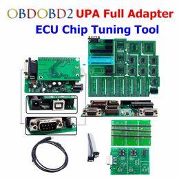 Wholesale upa adapters - High Quality UPA USB V1.3 Serial ECU Programmer Full Adapters UPA-USB Auto ECU Chip Tuning OBD2 Diagnostic Tool UPA V1.3