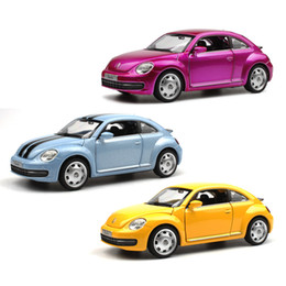 Carro de brinquedo de porta aberta on-line-Alloy Car 1:32 Die Cast Modelo, 15 Cm Metal Toy Car (# 3204), Nice Pintura Luz N Música Função Puxar para Trás Porta Aberta