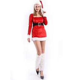 Deutschland Halloween Weihnachtstag Kostüm Bühne Rot Langarm Kleid Langes Haar Weihnachts Party Kleid Sexy Rock cheap dresses longs party Versorgung