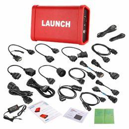 Wholesale x431 pro - LAUNCH X431 HD Heavy Duty Adapter Box HD Module Truck Diagnostic Adapter for X431 V+ PRO 3 PAD II LAUNCH X431