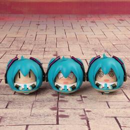 bicchierino all'ingrosso dei bambini Sconti Anime giapponese Figura Q Versione Hatsune Miku Tumbler Action Figure da collezione Model Toys For Kids Boy Girl Gift