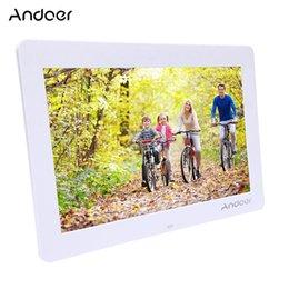 """Venda Por Atacado 14 """"HD Electronic Digital Photo Frame 1280 * 800 com controle remoto, incluindo MP3 MP4 Movie Player despertador de"""