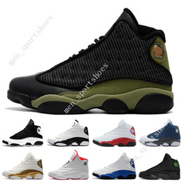 Cheap New 13 13s mens basketball shoes Hyper Royal He Got Game Bred Black  Cat sneakers women sports trainers running shoes for men designer 496a93fbb