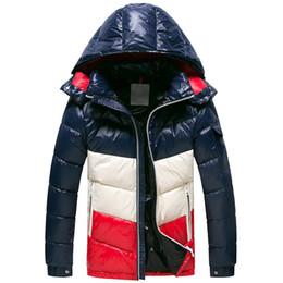 Brillanti cappotti invernali online-2018 nuovo prodotto ufficiale Cappotto invernale da uomo di marca piumino da parka con cappuccio da uomo M Bright