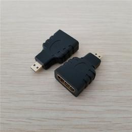 Argentina HDMI Tipo A Hembra a Micro HDMI Tipo D Conector Convertidor Adaptador Macho para Cámara DV Cámara a HD TV Proyector Suministro