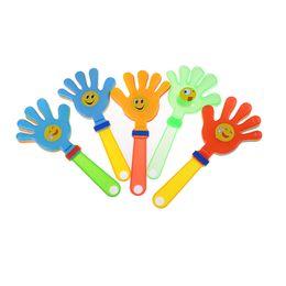 Wholesale hand clappers - 1Pcs children clap clap your hands small hands Hand clapper Concert party cheering props Festival supplies Random color