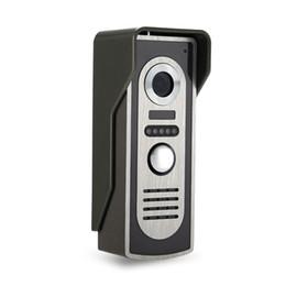 Telefone m2 on-line-Telefone Video Da Porta Intercom Sistema de Vídeo Campainha Da Câmera Ao Ar Livre Com Visão Noturna IR Para Porta Sistema de Controle de Acesso-M2