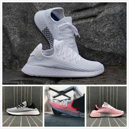 2019 nombres de calzado Envío gratis 2018 VENTA CALIENTE Nuevos Originales DEERUPT RUNNER ZAPATOS mans zapatos para mujer zapatos deportivos zapatillas de deporte Gran nombre CQ2624 szie EE. UU. 5-11 nombres de calzado baratos