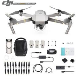 Wholesale Video Camera Connections - DJI Mavic Platinum 4K HD Video Recording 30mins Flight time 7km Remote Control dji mavic pro drone