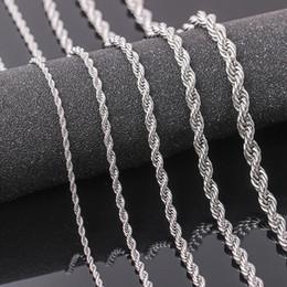 tendência de colar de corrente Desconto Cadeia de moda colar de aço inoxidável homens jóias festa clube banquete presente